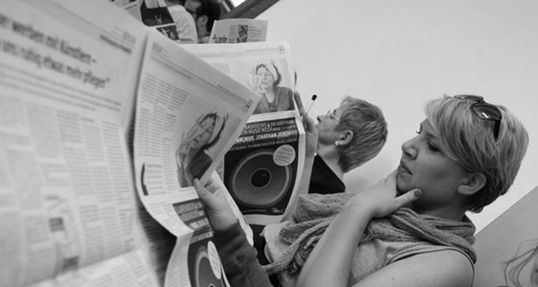 Homepage-Zeitunglesen